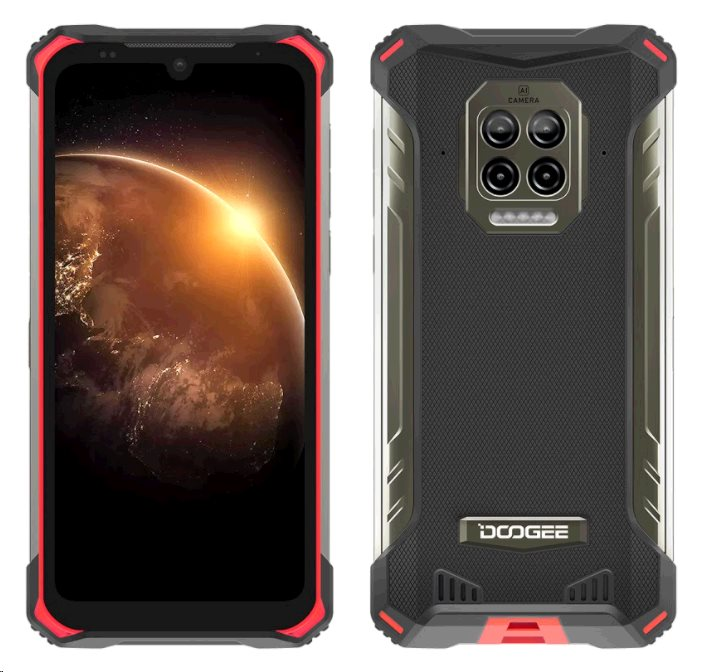 Doogee S86 DualSIM gsm tel. 6 +128GB Red