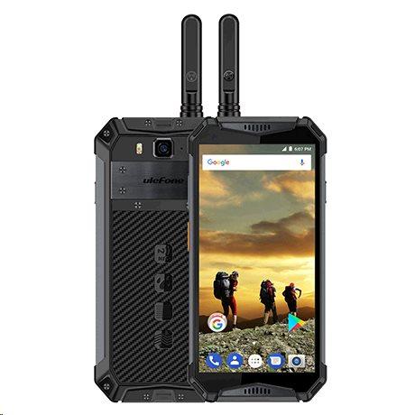 UleFone Armor 3T (PTT) DS 4+64GB gsm tel. Black