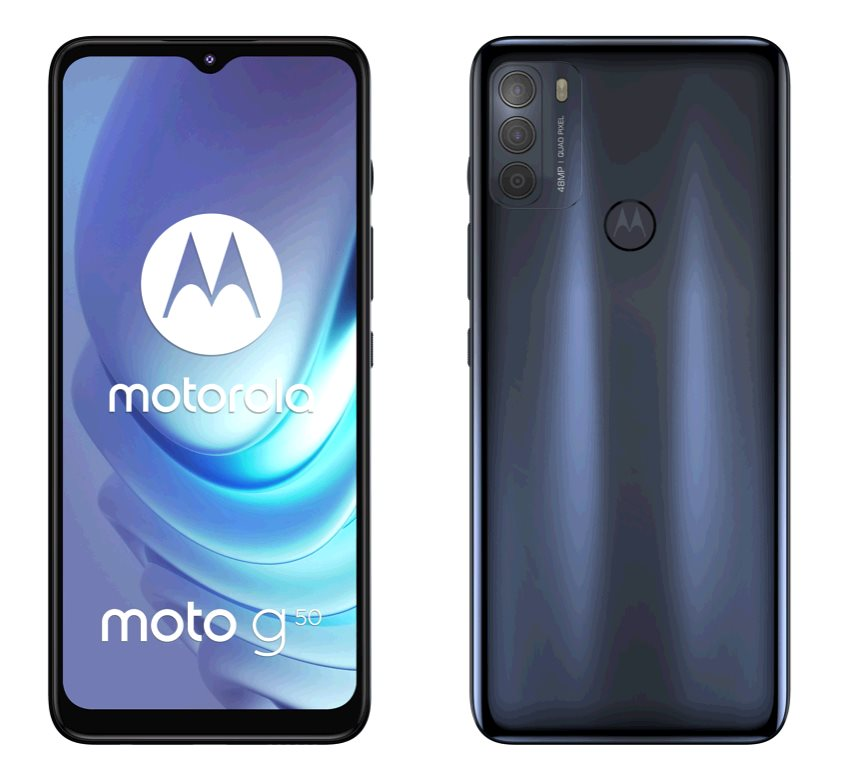 Motorola Moto G50 4+64GB DS GSM tel. Super Grey