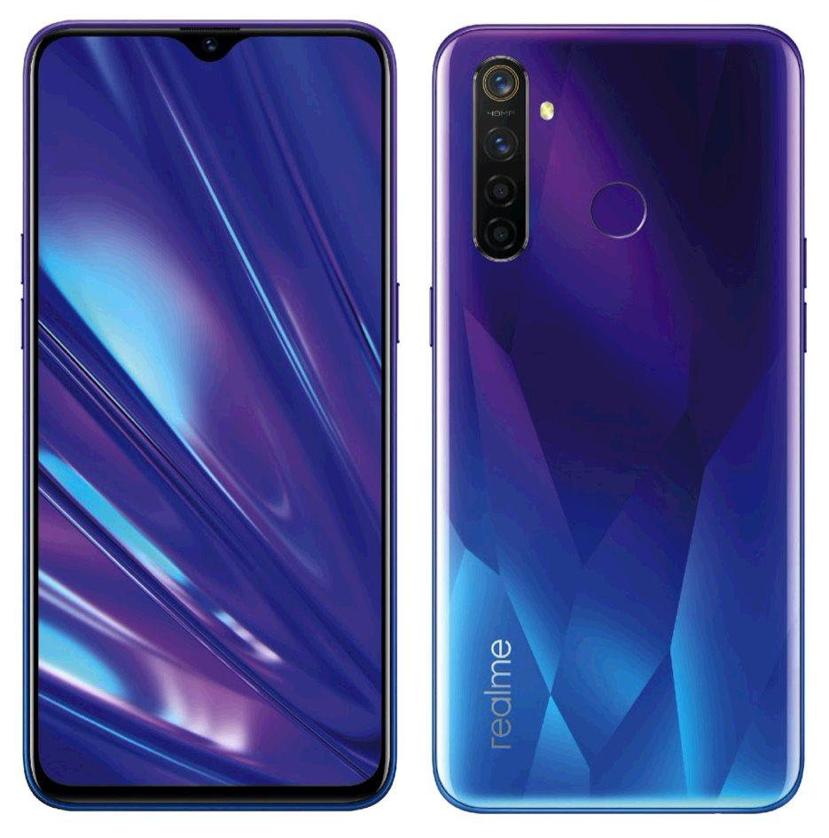 Realme 5 Pro 4GB/128GB Dual SIM Sparkling Blue, CZ