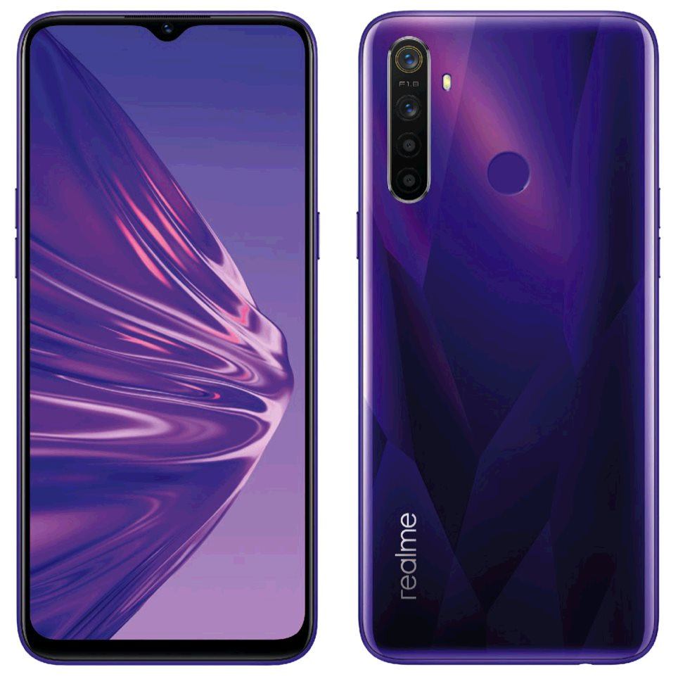 Realme 5 DualSIM 4/128GB Crystal Purple, CZ