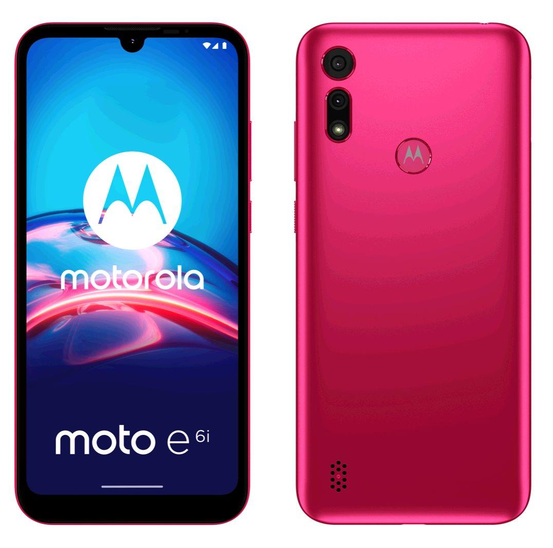 Motorola Moto E6i 2+32GB DS GSM tel. Rosa