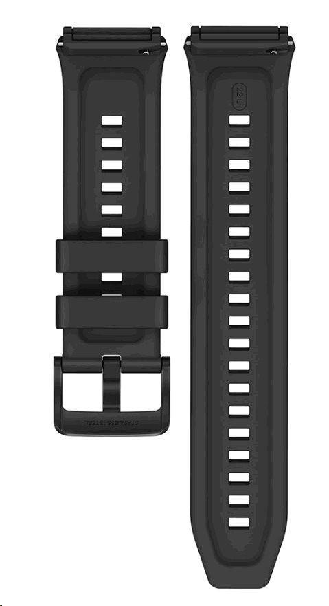 Huawei Original Silikonový řemínek Black pro Watch GT 2e (EU Blister)