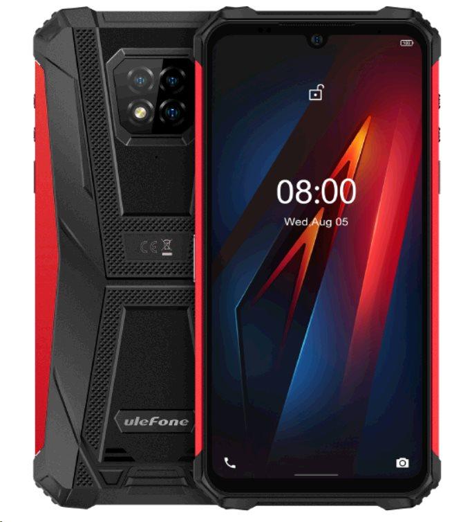 UleFone Armor 8 PRO 8+128GB Dual SIM gsm tel. Red