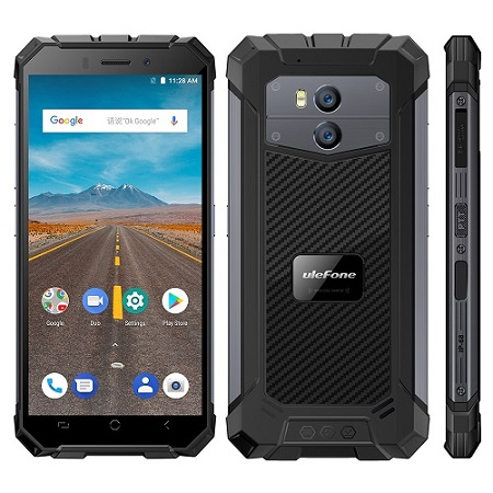 UleFone Armor X Dual SIM černý