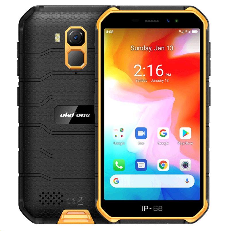 UleFone Armor X7 PRO DS 4+32GB gsm tel. Orange