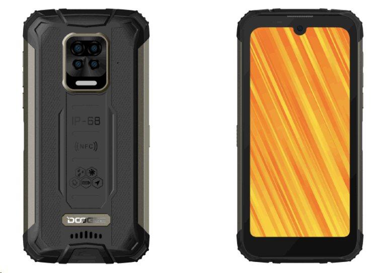 Doogee S59 DualSIM gsm tel. 4+64 Black