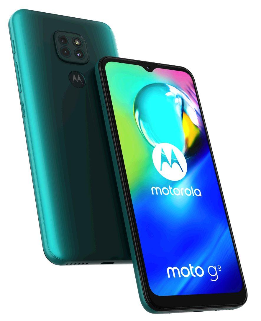 Motorola Moto G9 Play 4+64GB gsm tel. Forest Green