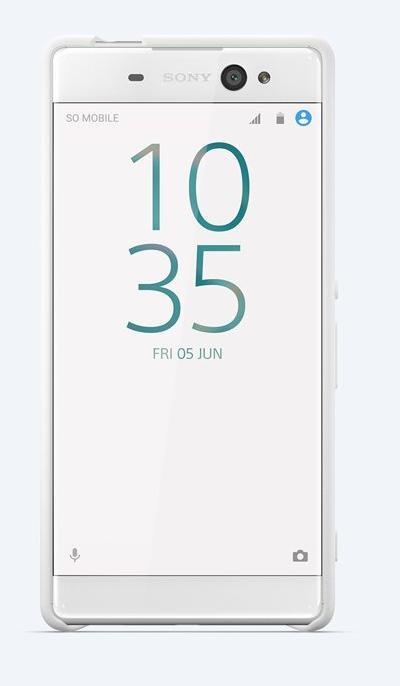 SBC34 Sony Style Back Cover pro Xperia XA Ultra White