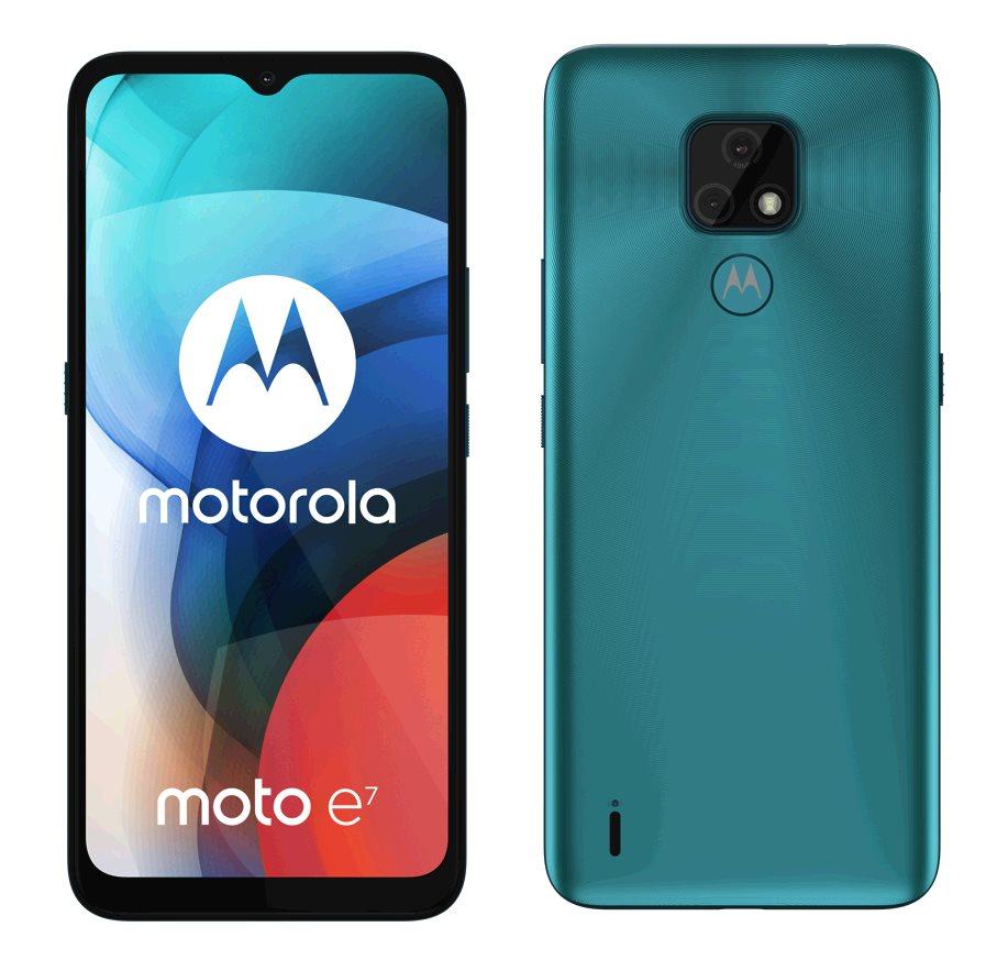 Motorola Moto E7 2+32GB DS GSM tel. Aqua Blue
