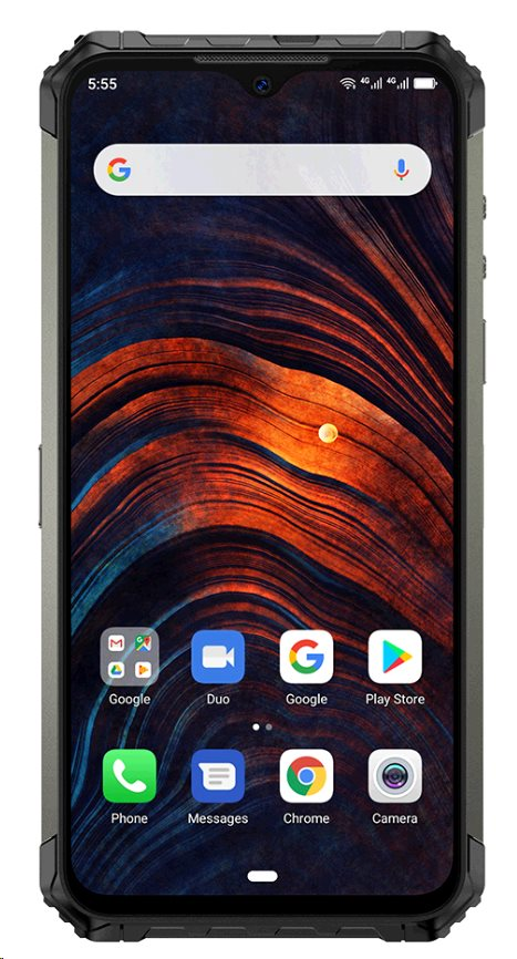 UleFone Armor 7 DS 8+128GB gsm tel. Black