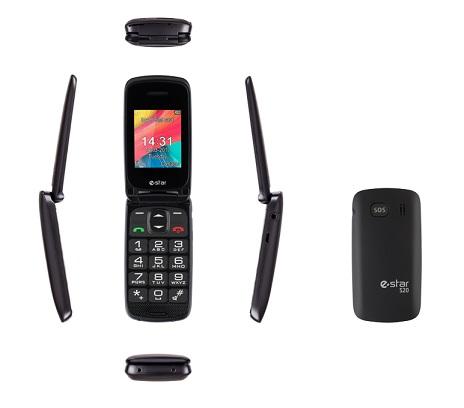 eSTAR S20 Single SIM gsm tel. Black