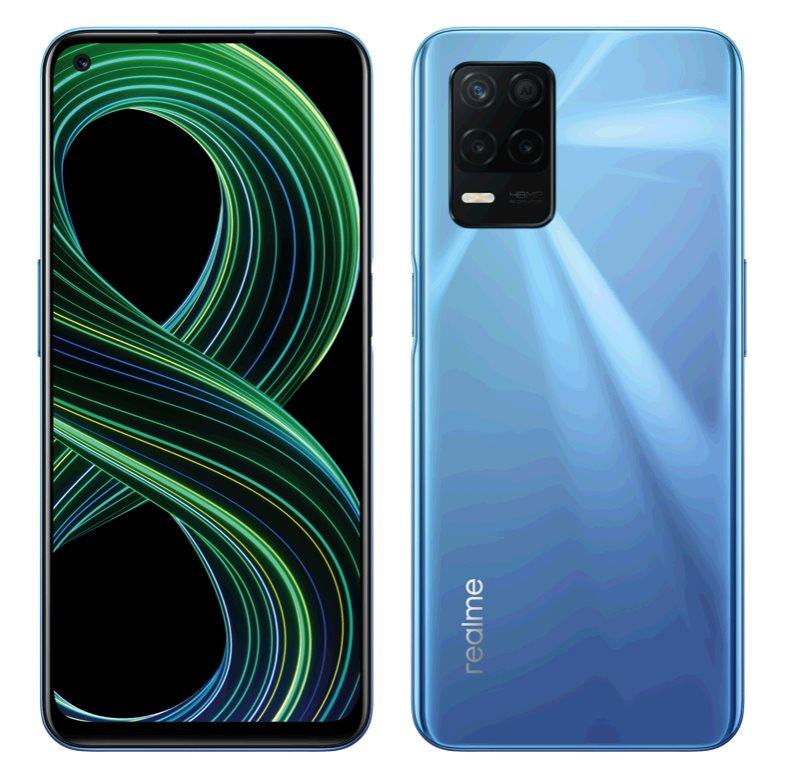 Realme 8 5G DualSIM 6+128GB gsm tel. Supersonic Blue