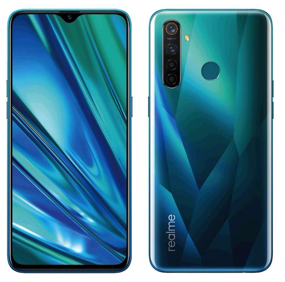 Realme 5 PRO DualSIM 8GB/128GB Crystal Green, CZ