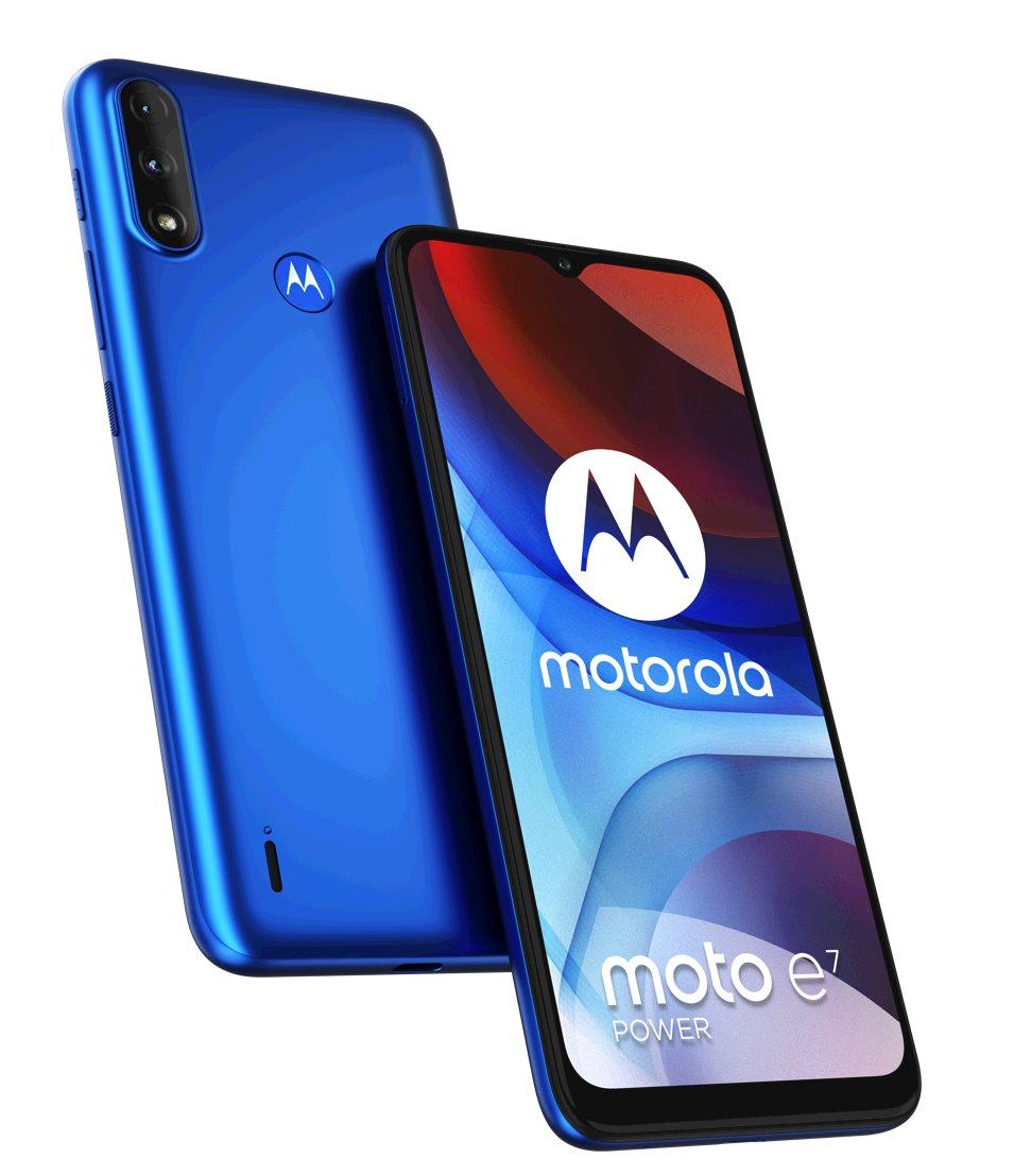 Motorola Moto E7 Power DS GSM tel. Digital Blue