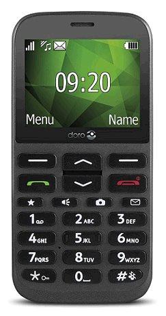 Doro 1370 SingleSIM gsm tel. Graphite_T-Mobile