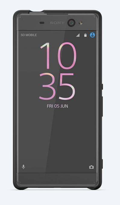 SBC34 Sony Style Back Cover pro Xperia XA Ultra Graphite Black