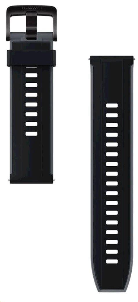 Huawei Original Silikonový řemínek Black pro Watch GT 2  (EU Blister)