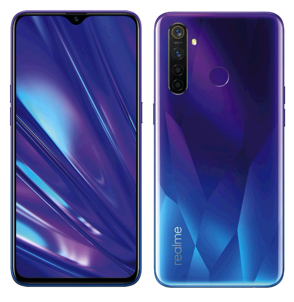 Realme 5 Pro 8GB/128GB Dual SIM Sparkling Blue, CZ