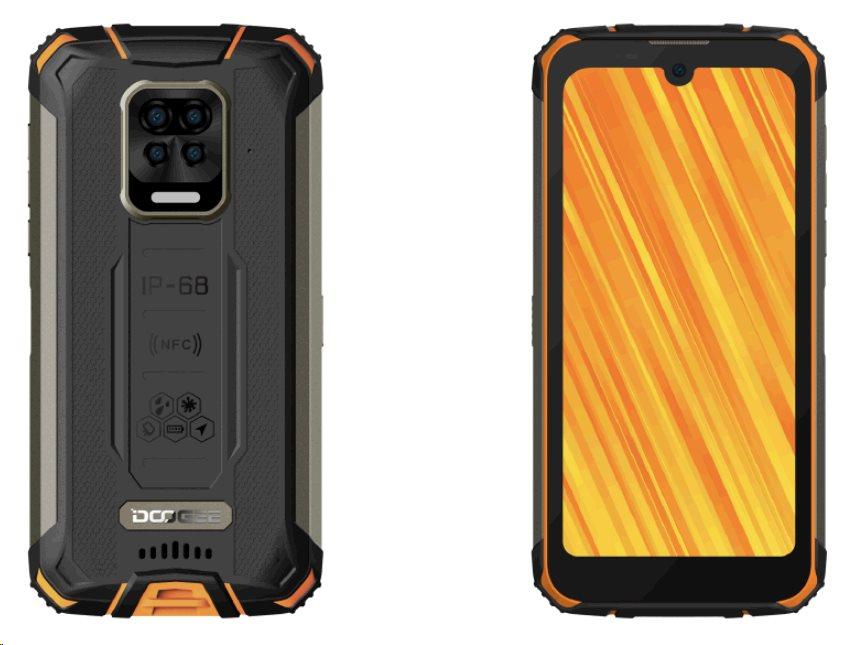 Doogee S59 PRO DualSIM gsm tel. 4+128 Orange