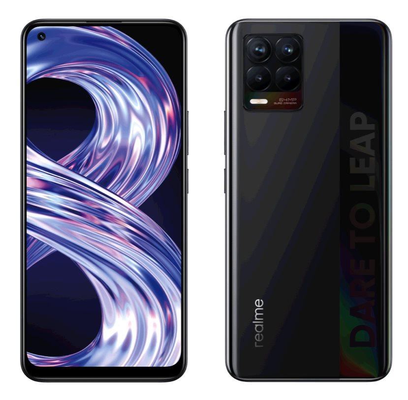 Realme 8 DualSIM 4+64GB gsm tel. Cyber Black