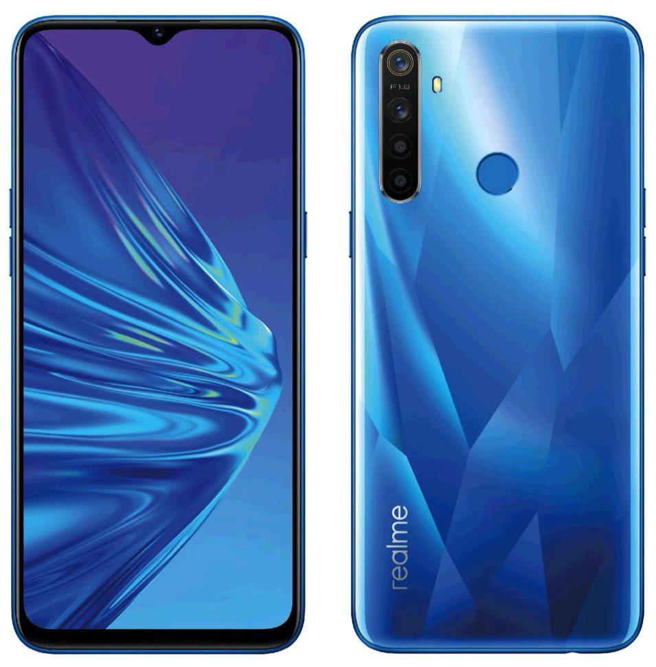 Realme 5 4GB/128GB Dual SIM Crystal Blue, CZ