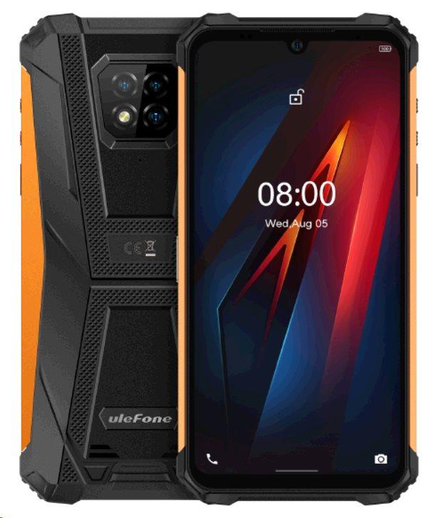 UleFone Armor 8 PRO 8+128GB Dual SIM gsm tel. Orange