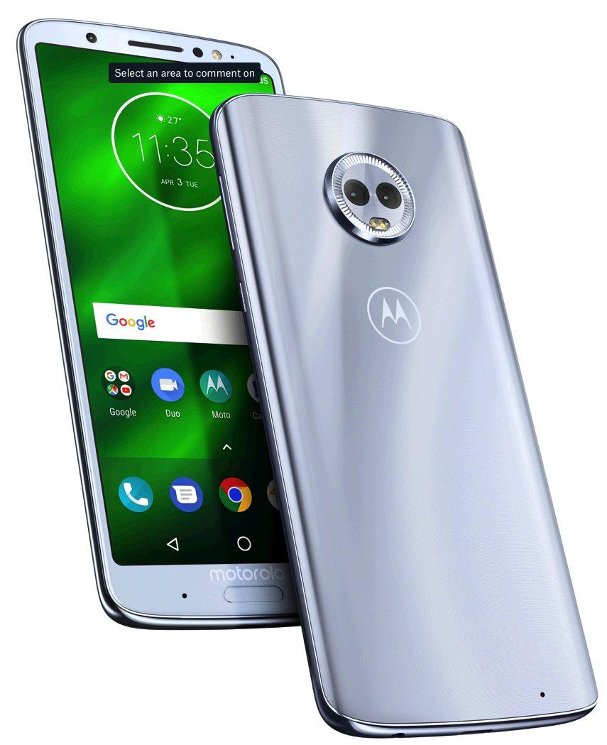Motorola Moto G6 Plus gsm tel. Nimbus Blue SS
