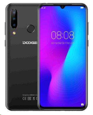 Doogee Y9 plus DualSIM LTE gsm tel. 4+64GB Black