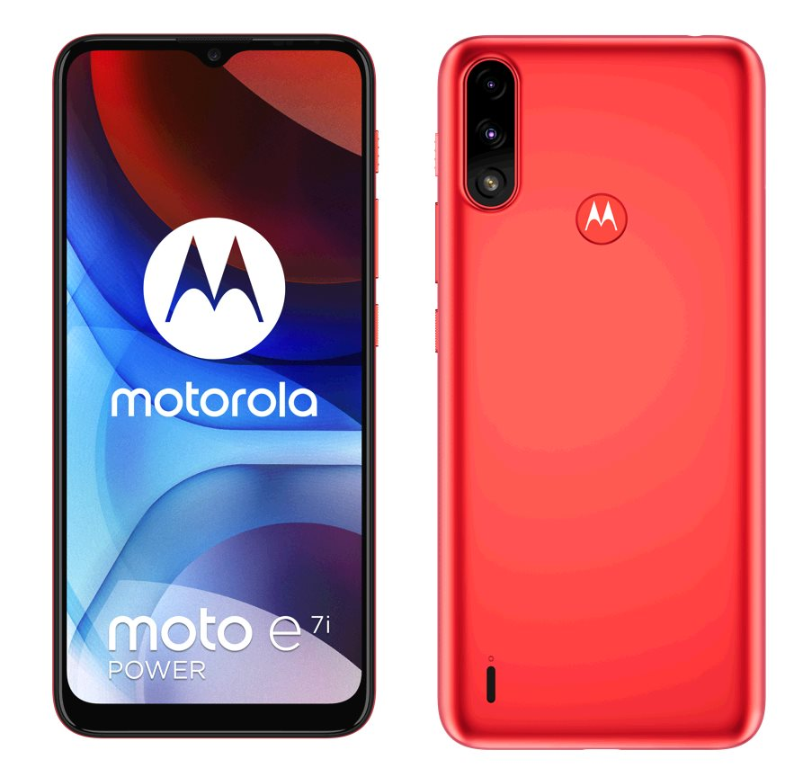 Motorola Moto E7i Power 2+32GB DS GSM tel. Coral Red