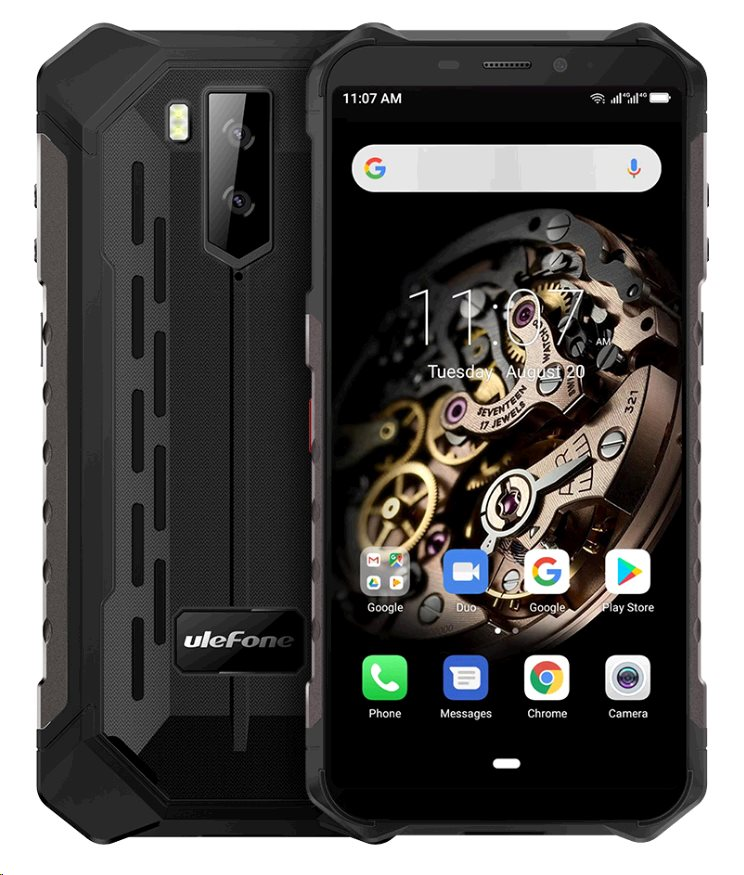 UleFone Armor X5 DS 3+32GB gsm tel. Black