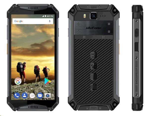 UleFone Armor 3W DS 6+64GB gsm tel. Black