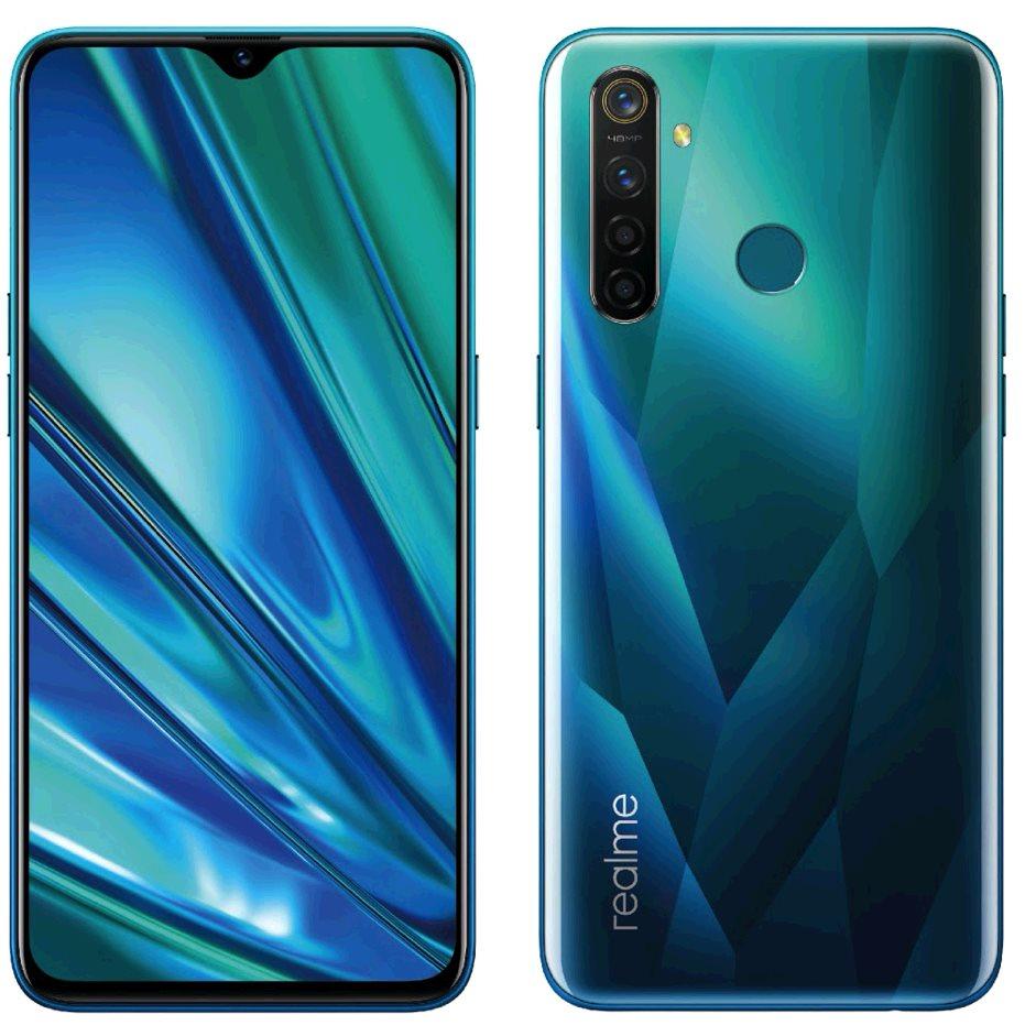 Realme 5 Pro 4GB/128GB Dual SIM Crystal Green, CZ