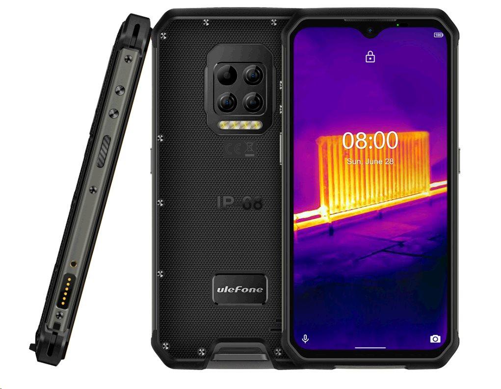 UleFone Armor 9 DS 8+128GB gsm tel. Black