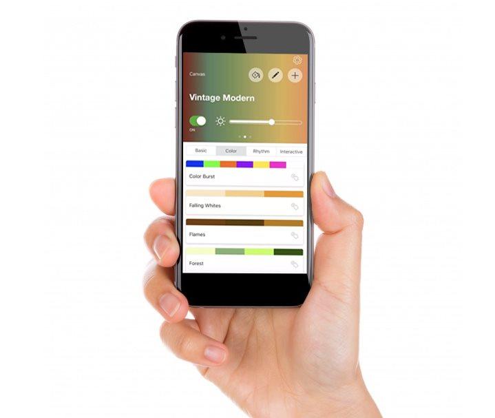 Mobilní aplikace Nanoleaf
